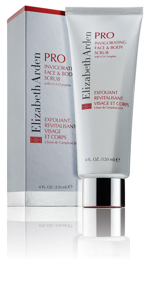 Elizabeth Arden Pro - Invigorating Face and Body Scrub - Ellen Conlin Hair and Beauty in Glasgow's West End, Hyndland and Giffnock