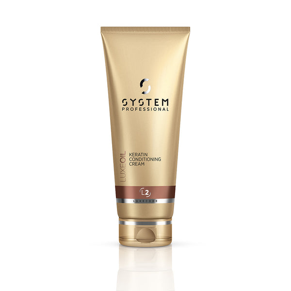 System Professional Luxe Oil Keratin Conditioning Cream L2 200ml - Ellen Conlin Hair and Beauty in Glasgow's West End, Hyndland and Giffnock