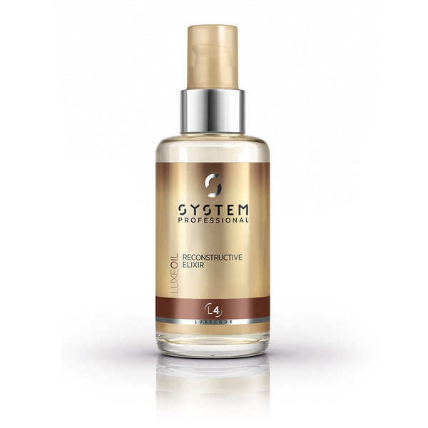 System Professional Luxe Oil Reconstructive Elixir L4 100ml - Ellen Conlin Hair and Beauty in Glasgow's West End, Hyndland and Giffnock - 1