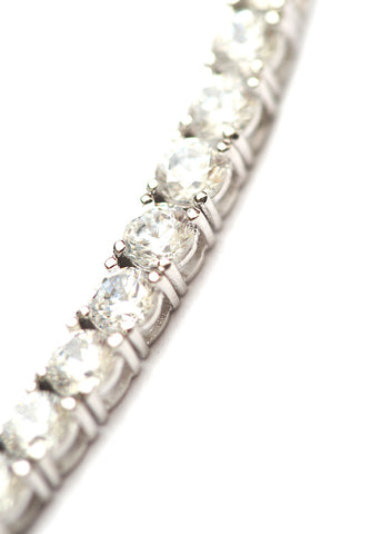 LeCalla Sparkly Stone Bracelet in 925 Sterling Silver