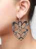 The Lacy Heart Dangler Earring
