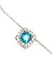 Blue Lagoon Silver Necklace - Sterling Silver - LeCalla
