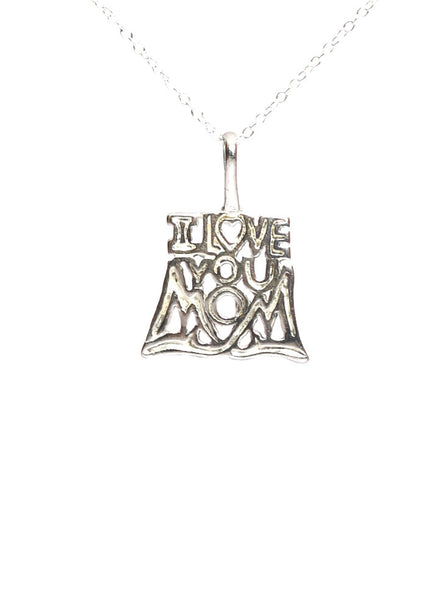 Love You Mom - Mother's Day Pendant - Gifting - LeCalla