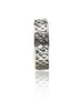 Graphic Pattern Toe Ring - Sterling Silver - LeCalla