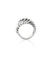 Glittering White Ring - Sterling Silver - LeCalla