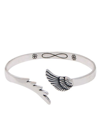 Feather Infinity Stunning Bangle - Online India LeCalla