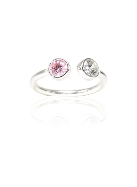 Preppy Jazz Up Ring - Sterling Silver - LeCalla