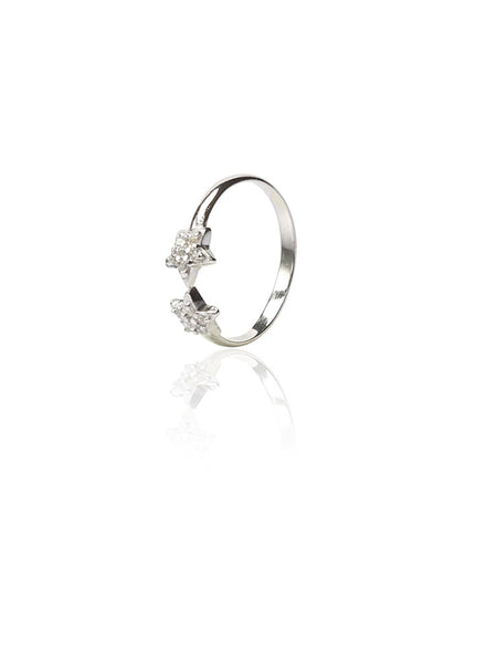Stars on your Feet Toe Ring - Sterling Silver - LeCalla