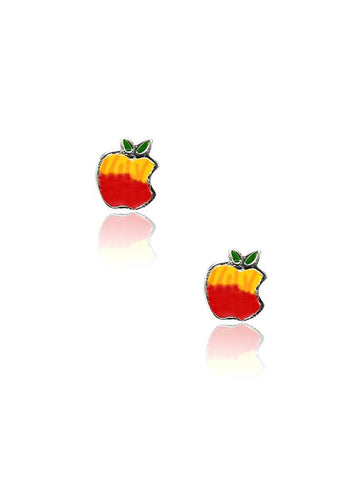 Apple of my eye stud earring - 925 Silver - LeCalla