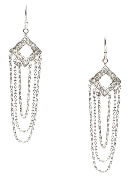 Dazzle in Tassels - Sterling Silver - LeCalla