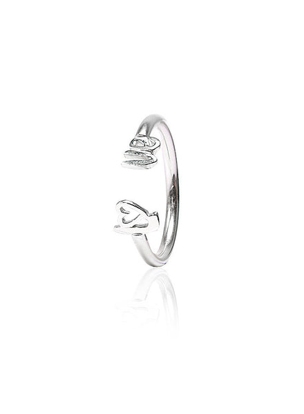 Spirit of Love Silver Ring - Sterling Silver - LeCalla