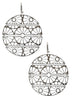 Geometric Web Dangler Earrings - 925 Silver - LeCalla