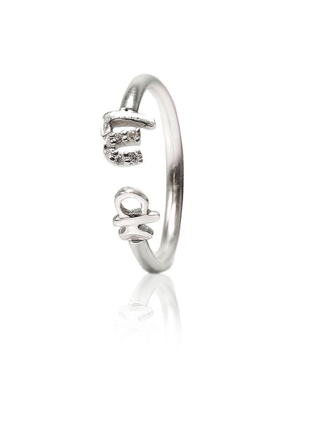 Lucky Silver Ring - Sterling Silver - LeCalla