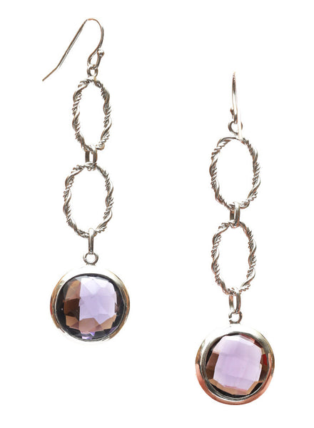 Classy Roy ale Dangler Earrings - 925 Sterling Silver