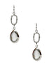 Subtly Breathtaking Dangler Earrings - Sterling Silver - LeCalla.in