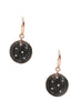 Black Magic Dangler Earring - Sterling Silver - LeCalla