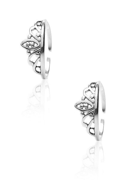 Princess Choice Toe Ring - Sterling Silver - LeCalla