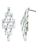 Chandelier Drop Chain Style Dangler Earrings - Sterling Silver - LeCalla
