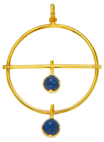 Blue Dew Stunning Gold Long Necklace - LeCalla Trendy Fashion - Online India