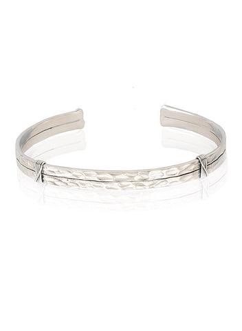 Foolhardy Cuff Bangle - Men's Jewelry - LeCalla