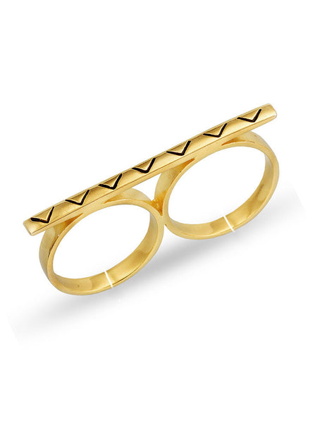 Elegant Bar Multi Finger Ring - Trendy Jewelry - LeCalla