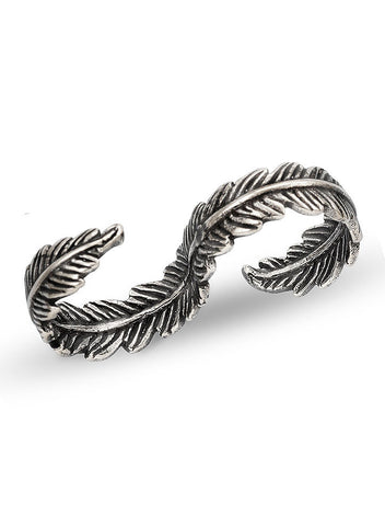 Feather Multi Finger Rind - Trendy Jewelry - LeCalla