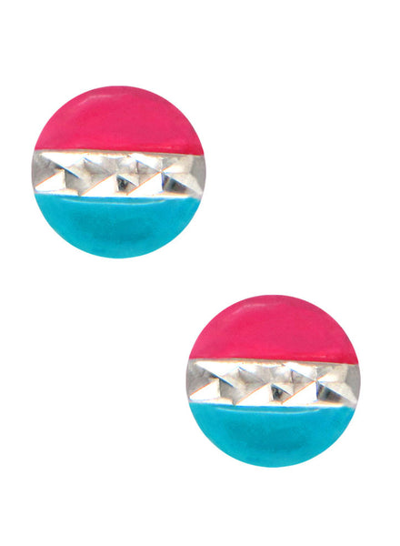 LeCalla's Sports Freak Kids Stud Earrings - Sterling Silver - Online India