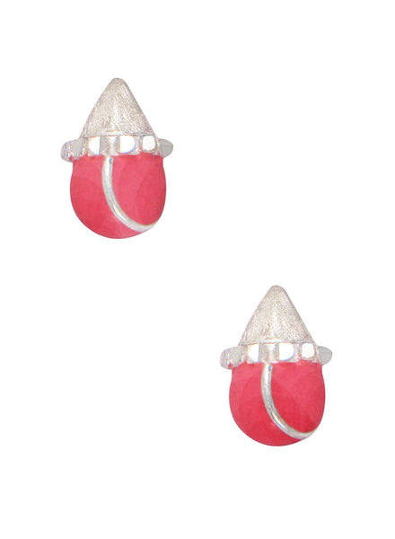 LeCalla's Cute Pink Kids Earrings - Sterling Silver - Online India