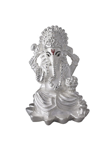 LeCalla Ganesh Ji's Religious Idol - Online India - Pure Silver Gifts