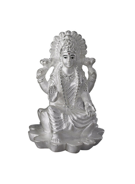 LeCalla Laxmi Ji's Tall Religious Idol - Online India - Pure Silver Gifting