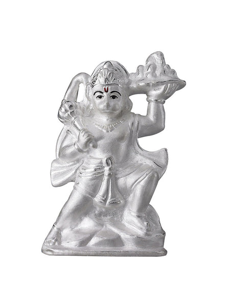 LeCalla Hanuman Ji Bajrang Bali God Idol - Online India - Pure Silver Gifting
