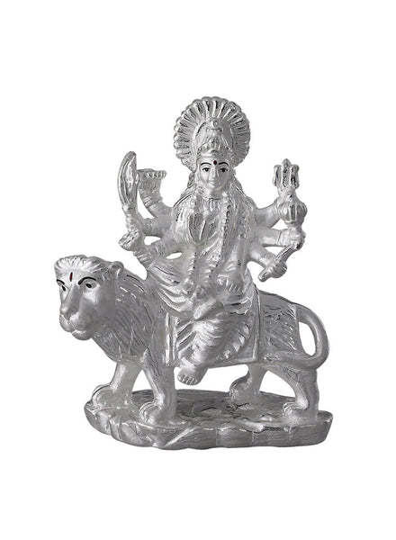 LeCalla Maa Durga Religious Idol - Online India - Pure Silver Gifting