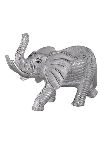 Elephant Pure Silver Religious Idol - Online Gifting Idea