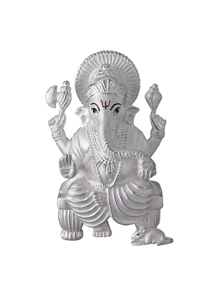 LeCalla's Ganesh Ji Religious Idol for Gifting - Online India - Pure Silver