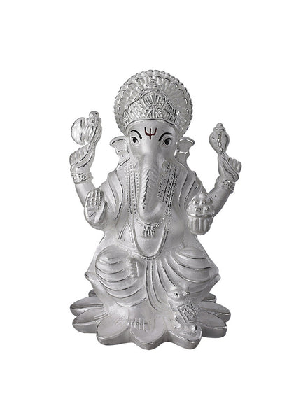 LeCalla's Ganesh Ji Religious Idol - Online India Pure Silver - Diwali Gifting