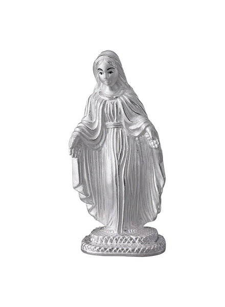 LeCalla's Mother Mary Silver Religious Idol - Pure Silver