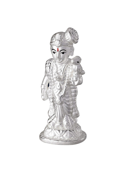 LeCalla's Andal Tali Pure Silver Religious Idol - Online India Gifting
