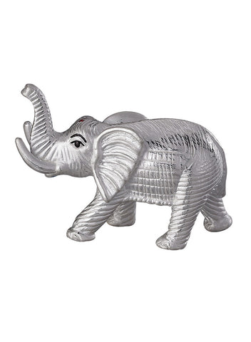 LeCalla Elephant Pure Silver Religious Idol Gift - Online India Ideas