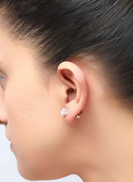 The Interchangeable Two Way Studs - Sterling Silver - LeCalla
