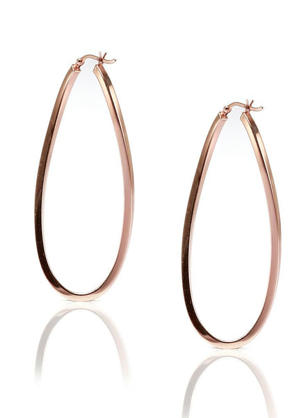 Love Hoop Earring - 925 Sterling Silver - LeCalla