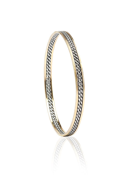 Daily Doze of style Bangle - Sterling Silver - LeCalla
