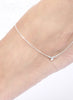 Buy Online India Star Charm Trendy Fashion Anklet - Sterling Silver - LeCalla