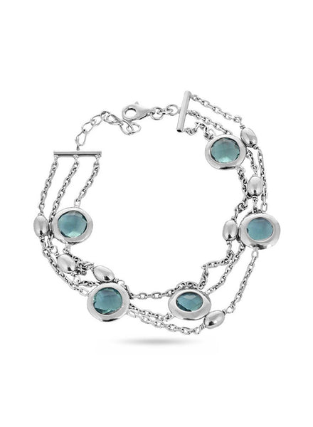 Silver Bracelet in 925 silver-lecalla.in