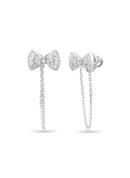 Silver Stud earring in 925 silver-lecalla.in