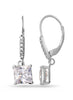 Silver Dangler earring in 925 silver-lecalla.in