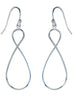 Wired Light Weight Dangler Earrings - Sterling Silver - LeCalla