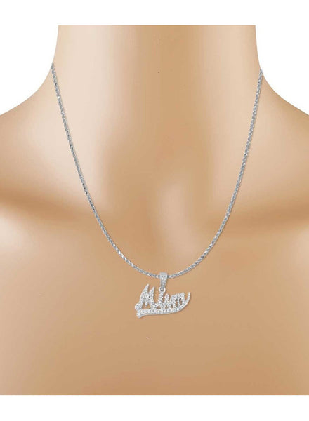 Silver Pendant Necklace in 925 silver-lecalla.in