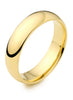 Sleek Gold Band Ring for Women