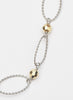 Links Of Gold Silver Necklace - Sterling Silver - LeCalla