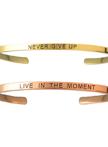Customised Inspirational Band - Mantra Band - LeCalla